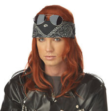 Hollywood Rocker Wig Axl Rose Costume Guns 'n Roses 90's 80's Axel