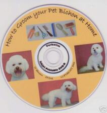 BICHON FRISE DOG grooming Instructional video  2nd. Ed