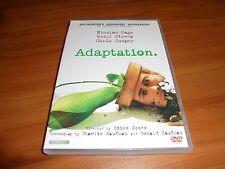 Adaptation (DVD, 2003, Widescreen) Nicolas Cage, Meryl Streep, Chris Cooper Used