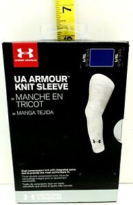 Under Armour Mens Amour Knit Sleeve Blue L/XL New