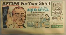 Aqua Velva After Shave Ad: Better For Your Skin! from 1960's