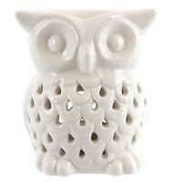 Something Different Wholesale White Owl Oil Burner,white - Burner Ceramic Wax