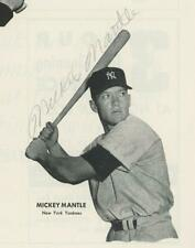 MICKEY MANTLE vintage 1954 autograph on All-Star Program | BAS certified SIGNED
