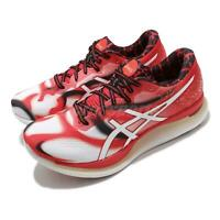 Asics GlideRide Tokyo White Classic Red Men Running Shoes Sneakers 1011A953-100