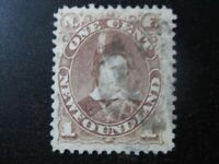 NEWFOUNDLAND Sc. #41 used stamp! SCV $10.00