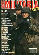 "Revue Magazine Militaire "" Armes Militaria No 81 Avril 1992 """