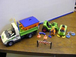 Playmobil -  Bauhof -Stadtreinigung