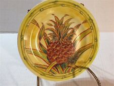 """Pineapple Collection By Saddhia Hutchinson By Andrea Sadek 8.25"""" Plate"""