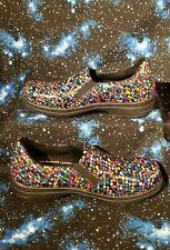 Easy Works by Easy Street Slip Resistant Work Shoes Polka Dot Black Size 10 W