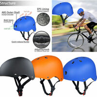 Adult Kids Skate Helmet BMX Bike Scooter Board Helmets Adjustable Safety US