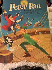 Vintage Peter Pan Stand Up Story Hallmark Playbook