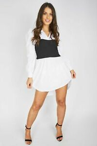 BANDEAU SHIRT DRESSES For Ladies And Women Casual And Formal Wear UK Best New