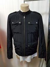 HUGO BOSS Coss-US Full Zip Military Jacket Black Men's Size 48 IT 38 US  $295