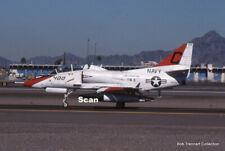 Original 35mm Slide Military Aircraft/Plane Usn Ta-4J 158520 Jan 1990 #P3114