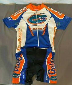 Canari Florida Gators Women's Full Zip Bike Jersey S & Compression Shorts XS