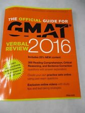 GMAT - The Official Guide for GMAT 2016 Verbal Review