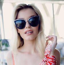 NEW QUAY My Girl  Black / Smoke Sunglasses