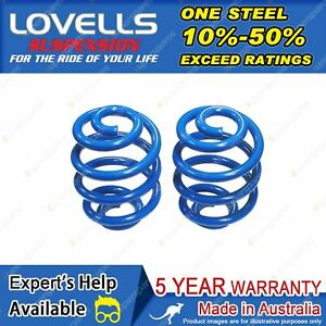 Lovells Rear Sport Low Coil Springs for Nissan B13 NX NXR Coupe 1991-05/1995
