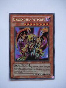 CARTA YU-GI-OH! DRAGO DELLA VITTORIA RP02-IT098(OTTIME CONDIZIONI)