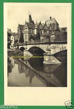 Marburg Lahn Verlag Dürerhaus #110 ~1930 Blick vom Trojedamm Uni u. Schloß Löwe