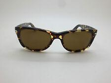 New Authentic PERSOL 2953-S 985/57 Tabacco Virginia Polarized 53mm Sunglasses
