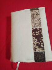 Handmade Adjustable Fabric Book Cover, Soft Feeling, Perfect Christmas Present