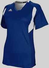 ADIDAS WOMENS UTILITY SS TEE T-SHIRT CLIMALITE NAVY sz S NEW AUTHENTIC