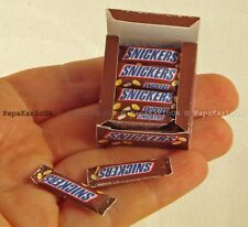 Packaging Snickers. Breakfast set Dollhouse Miniatures decor accessories dolls