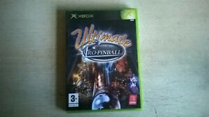 ULTIMATE PRO-PINBALL - XBOX GAME - FAST POST - ORIGINAL & COMPLETE WITH MANUAL