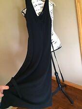 BANANA REPUBLIC XS Black Double V-Neck black dress, x-small sleeveless