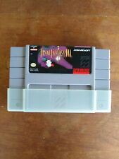Final Fantasy Iii ( Snes, 1994) Cart only, tested