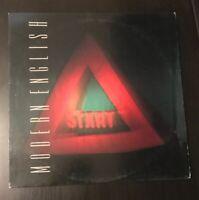 MODERN ENGLISH!! STOP & START! ORIG. 1986 NEW WAVE VINYL LP
