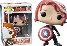 Funko Avengers 2 Age of Ultron - Black Widow With Shield Pop Vinyl Figure