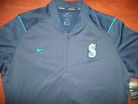 Nike Elite Seattle Mariners 1/2 Zip Pullover Size XXL $85 Retail