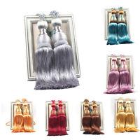 Large Tie Backs Prism Crystal Ball Tassel Curtain Rope Window Drapery Holdbacks