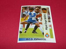 M.A. BENITEZ RCD ESPANYOL OVIEDO PANINI LIGA 96-97 ESPANA 1996-1997 FOOTBALL