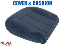 1995-1999 Chevy Tahoe Suburban -Driver Side Bottom Cloth Seat Cover/Cushion Blue