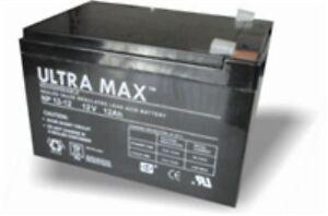 ULTRAMAX Battery for PIGEON MAGNET Sealed Lead Acid 12V 12ah