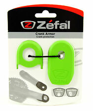 ZEFAL CRANK ARMOR MOUNTAIN BIKE CRANKS ARM PROTECTOR SLEEVE, GREEN