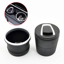 Ashtray Car Black Tidy Clean Interior Cigarette Cans Ash Trash Cup Holder Home