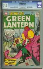 SHOWCASE #24 CGC 7.5 CR/OW PAGES // 3RD APP SILVER AGE GREEN LANTERN 1960