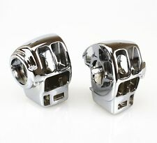CHROME Switch Housing Cover For Harley Davidson Electra Glide Road King FLH T R