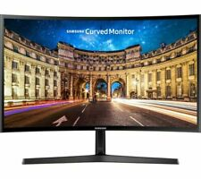 "SAMSUNG C24F396 Full HD 24"" Curved LED Monitor - Currys"