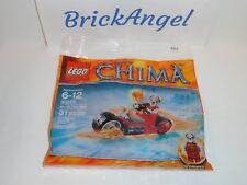 NEW LEGO Chima Worriz Fire Bike Mini Figure 30265 Factory Sealed Polybag Set