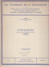 Les Classiques de la Contrebasse - No. 2. Courante extraite de la 1ère Suite ...