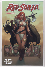 RED SONJA #1 (2019) Dynamite Frank Cho VARIANT Cover D Conan Unread NM