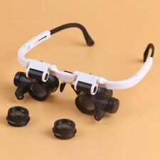 8X 15x 23x Watch Jewelry Clock Repair Magnifier with LED Light