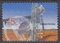 Australien Briefmarke gestempelt 45c Outback Services / 80
