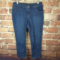 Riders by Lee Womens Jeans Size 20W Petite Straight Relaxed 29 Inseam