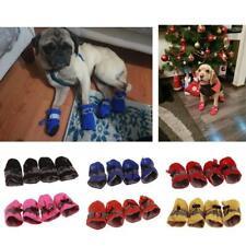 4Pcs Dog Puppy Rain Boots Shoes Waterproof Rain Boot Pet Small Dog Booties Q